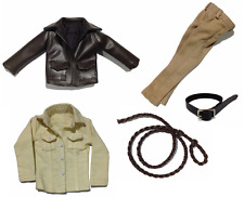 1/6 Scale Custom Indiana Jones Harrison Ford suits for Hot Toys Body