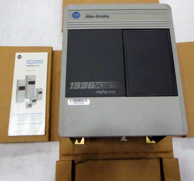 allen bradley 1336 plus adjustable frequency ac drive w sensorless rh ebay com Allen Bradley Distributors Wiring-Diagram Allen Bradley 753 Drive