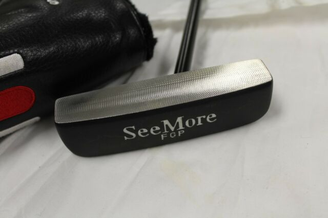 "Used See More FGP 34"" Putter SeeMore FGP 34"" Putter W/Cover"