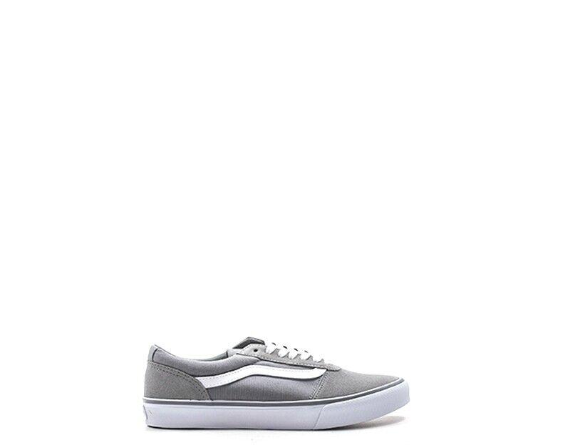 Zapatillas Vans mujer gris de va3il2r72 tela, gamuza