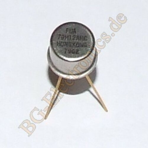 2 x 79M12AHC Fixed Negative Voltage Regulat 79M12-AHC  TO-5 2pcs