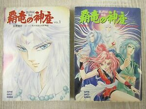 BURAI-GAIDEN-Haryu-no-Kamikura-Novel-Complete-Set-1-amp-2-TAKEO-IIJIMA-Book-SG