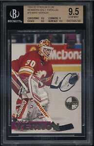 1994-95-Stadium-Club-Members-Only-Mike-Vernon-Gem-Mint-BGS-9-5-Calgary-Flames