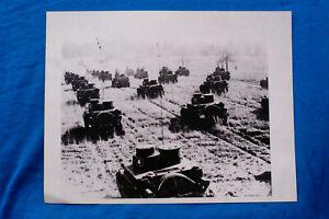 Photo-Mae-West-Tanks-On-Manuevers-Circa-1940