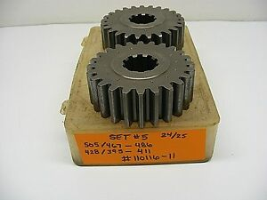 505 / 428 QUICK CHANGE GEAR SET 5 RACE WINTERS K&N TIGER IMCA CHESTER 110116-11