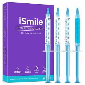 Ismile Teeth Whitening Kit Led Light 35 Carbamide Peroxide 3 3ml