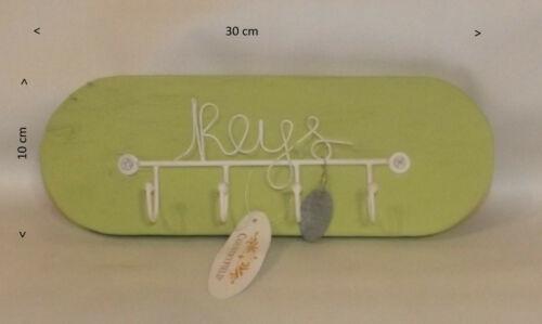 Keys, Schlüsselbrett,Bambus grün Schlüsselhalter