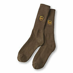 Buy Pack of 6 Pairs and SAVE $$$ UPS Crew Sock 6-Pack  ALL SIZES IN STOCK