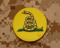 Gadsden Flag Don't Tread On Me Dtom Tea Party Tacticool Ig Militia Morale Patch