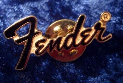 guitare Pin/'s FENDER noir et doré