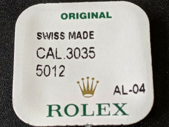 Rolex 3035 5012 & 3030 5012 Great Wheel New Genuine Factory Sealed Package
