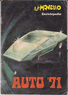 """Album Figurine Enciclopedia """"auto '71"""" Il Monello Completo Removing Obstruction Non-sport Trading Cards Sticker Albums, Packs & Spares"""