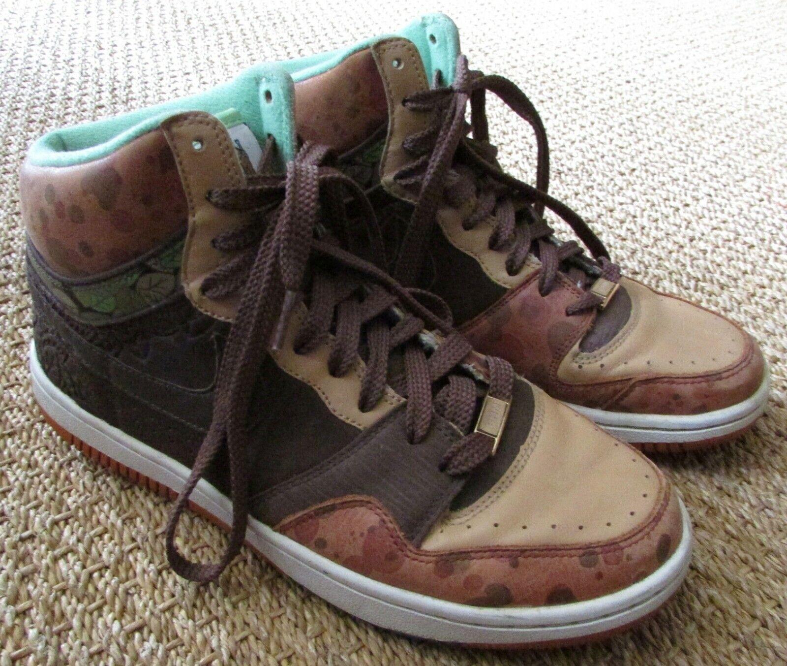 2007 Nike Bhm Hof Force Hoch Premium Ryo The Skywalker Sz 9.5  318498-921