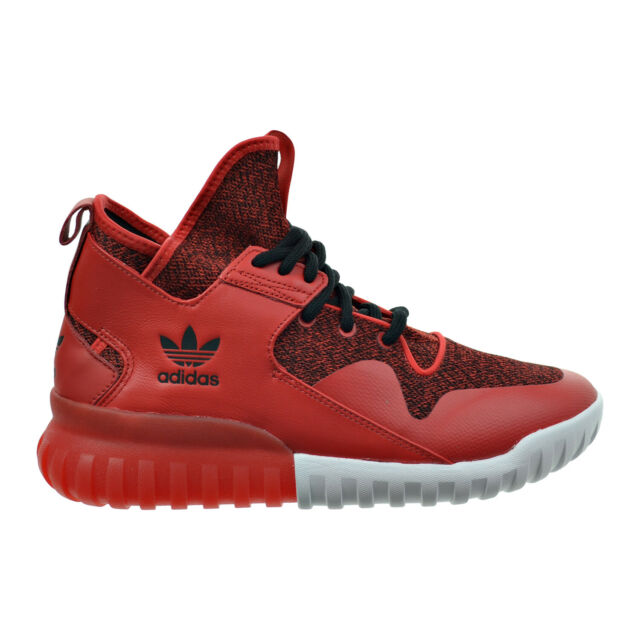 info for 353ce 6a5cd adidas Tubular X Mens S74929 Red Core Black Athletic Shoes SNEAKERS Size 11