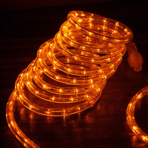 Image Is Loading Orange Led Rope Lights 1 2 034