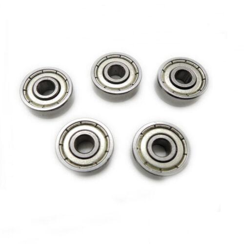 10Pcs 689ZZ 689-2Z 9x17x5mm Metal Double Shielded Stiff Ball Bearing Bearings