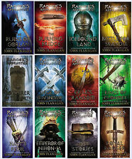 The COMPLETE Ranger's Apprentice Series 12 Book Set 1-12 John Flanagan New