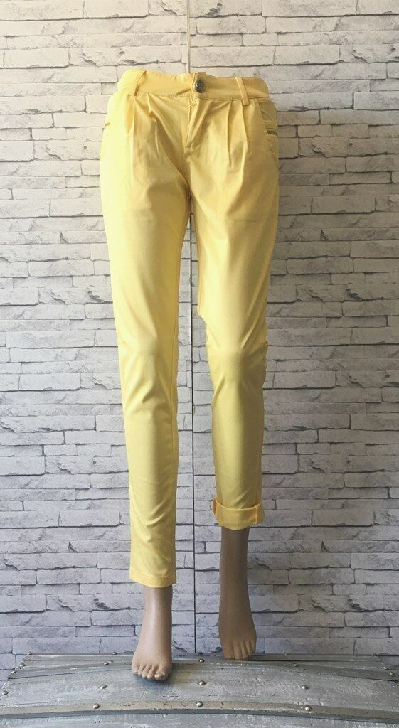 Pantalon Femme Freesia Collection yellow citron 36 (S T1)