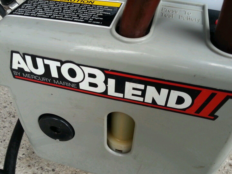 Mercury Marine Auto Blend II Öl Ölmischer Öl II Tank Pumpe Oil Injection 819229A1 8fffdd