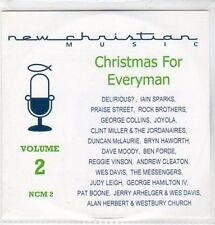 (CC882) New Christian Music, Christmas For Everyman, Vol 2 - 2003 DJ CD
