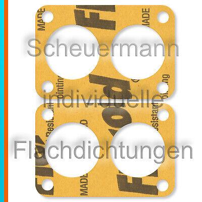 44 46 DCOE+IDF+DCNF Vergaser 40 45 2x Deckel-Dichtung Choke Weber 36