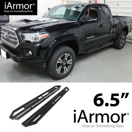 iArmor Aluminum Side Steps Armor Fit 05-20 Tacoma Extended Access Cab