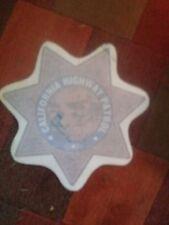 Obsolete Vintage CHP CALIFORNIA HIGHWAY PATROL Police Door Decal Shield Set