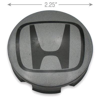 "Honda Center Caps OEM Insight Fit DARK GREY 44732-S5A-0000 85T 15/"" Wheel Set"