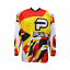 PULSE-STORM-YELLOW-amp-RED-MOTOCROSS-MX-ENDURO-QUAD-BMX-MTB-KIT-FREE-SOCKS thumbnail 2
