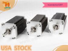 Us Free Wantai 3pc Nema42 Stepper Motor 110bygh201 001 8a 201mm 4200oz In