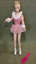 BARBIE *Jewel Skating Blonde Barbie Doll 1998 #23239 Used in Display Case Only!