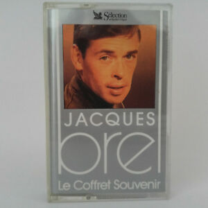 Jacques-Brel-La-Tendresse-La-Solitude-Les-Desesperes-Cassette-Audio-K7-Tape
