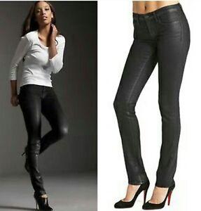 skinny Fave Black Leg Celeb 198 Venom Brand Pencil Coated J Jeans 24 qBxYnE
