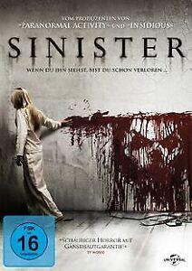 Sinister-von-Scott-Derrickson-DVD-Zustand-gut