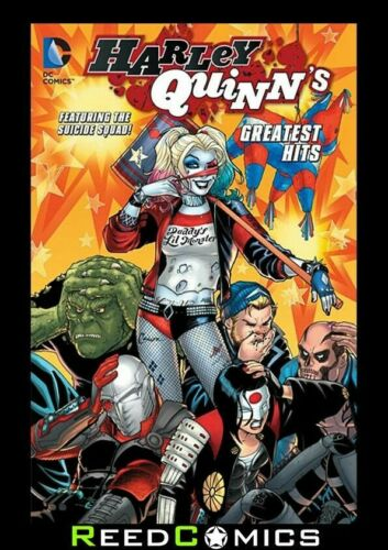 HARLEY QUINNS GREATEST HITS GRAPHIC NOVEL New Paperback 168 Pages