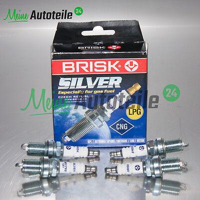 4x Zündkerze BRISK SILVER DR17YS-9 1463 für Autogasfahrzeuge LPG