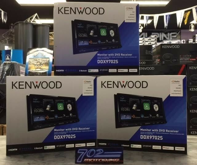 NEW MIRRORLINK KENWOOD DDX9702S APPLE CARPLAY ANDROID AUTO DVD  EXCELON ANDROID