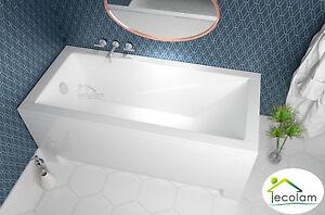 Moderne Badewanne Wanne Rechteck Eckig 170 X 70 Schurze Ablauf