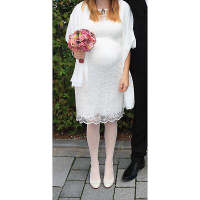 Umstandsbrautkleid Brautkleid für Schwangere