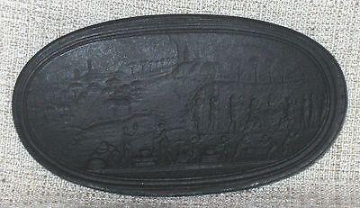 18th Century Wedgwood WADGWOJD Oval Basalt Intaglio Stamp Seal