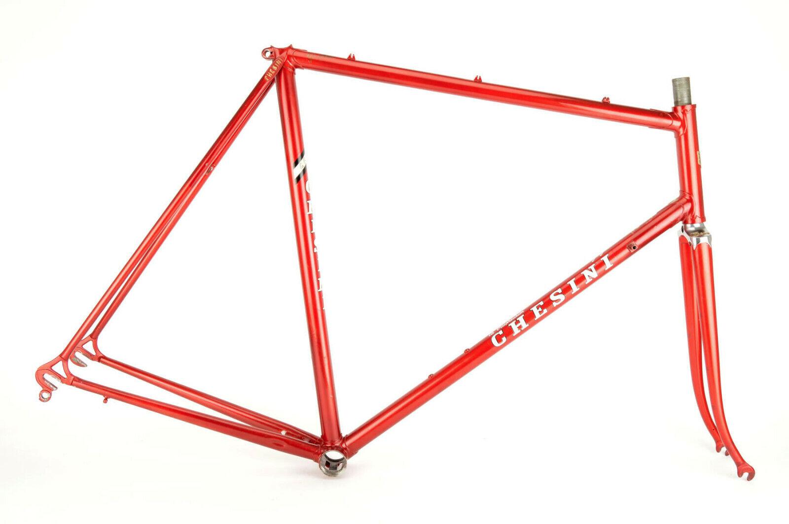 rosso Chesini frame in 59.5 cm CT58 cm CC