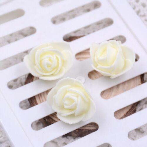 al por mayor druable Espuma Rosas Artificial Flor Fiesta Boda Novia 10-200 un