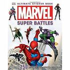 Marvel Super Battles Ultimate Sticker Book by Simon Beecroft (Paperback, 2014)
