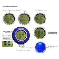 Sunroad Sr204 Digital Fishing Barometer Altimeter Thermometer Waterproof Sl S2y9