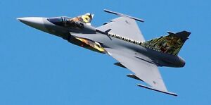 Details about Saab JAS 39 Gripen Fighter Attack & Reconnaissance Aircraft  Wood Model Big New