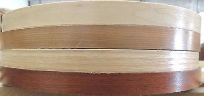 """Red Oak wood veneer edgebanding 7//8/"""" x 250/' feet preglued with adhesive hot melt"""