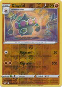 Claydol 103//202 NM Rare Pokemon Card Sword /& Shield Set