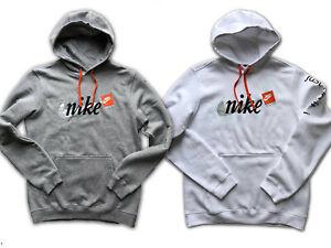 Nike Pullover.Westen.Sweatshirts aus Baumwolle Grau