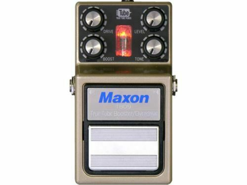 MAXON True Tube Booster Overdrive TBO9 [FREE SHIPPING] [Effects Pedal]