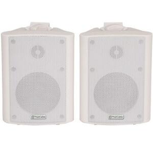"""Paar – 8"""" 2-Wege Stereo Lautsprecher -180W 8Ohm- Weiß Hintergrund ..."""